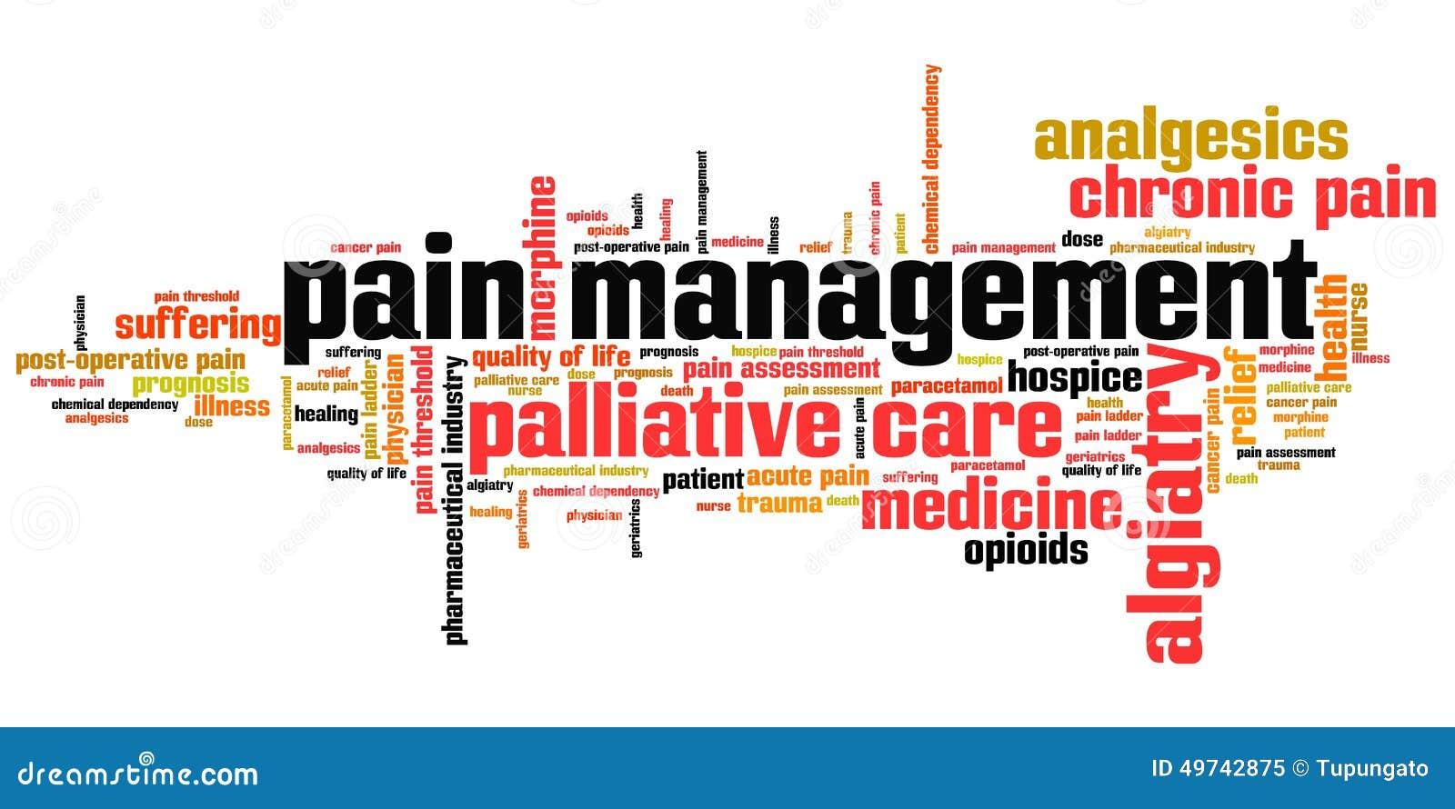 Schmerzen Sie Management