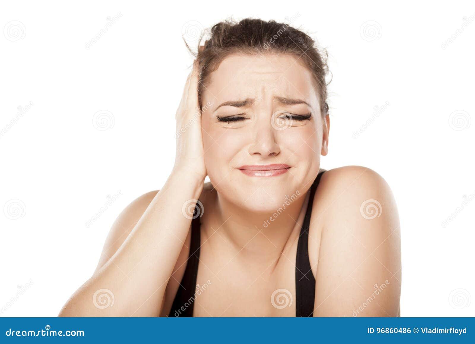 Schmerzliches Ohr