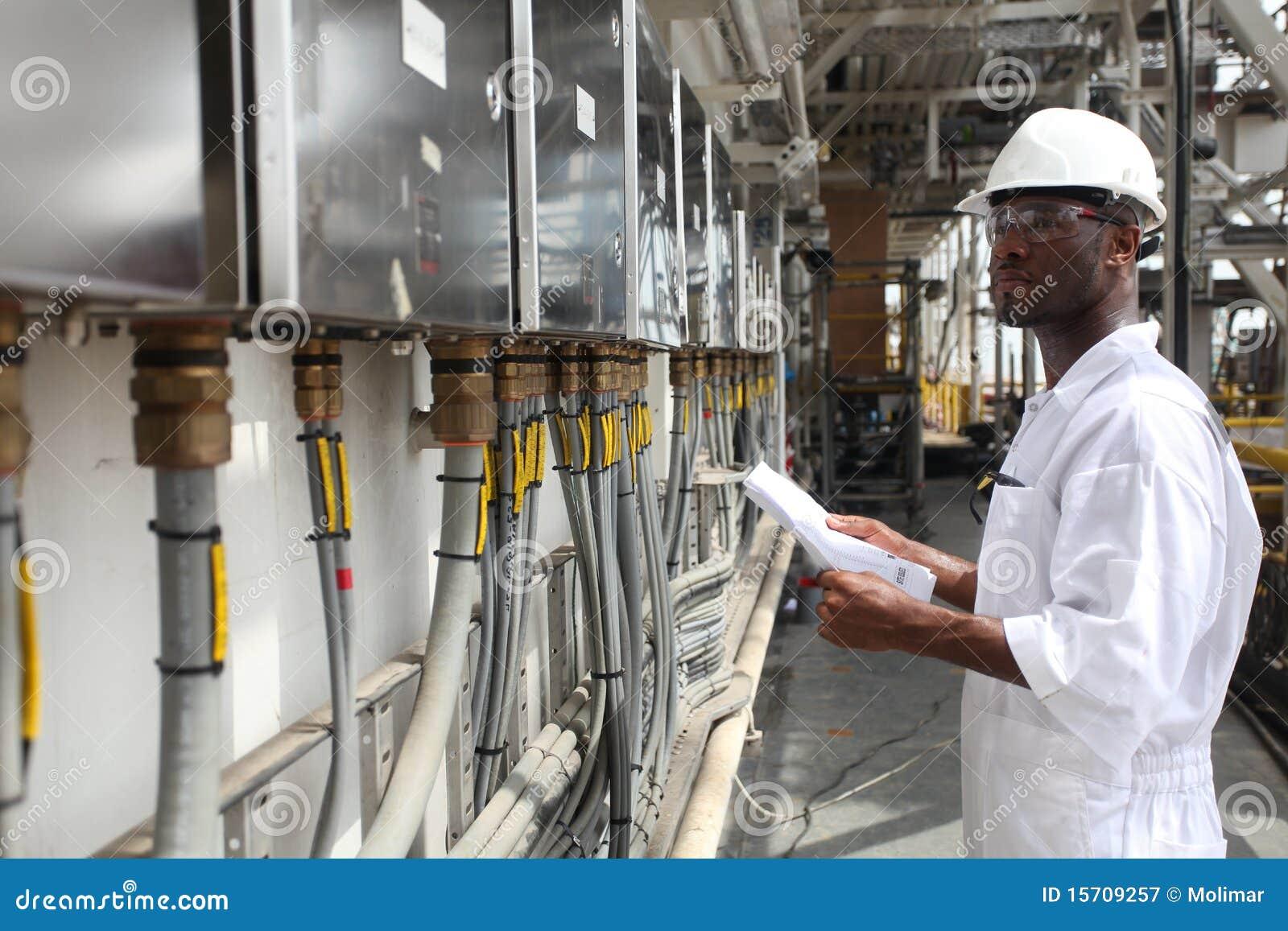 Schmieröl-u. Gas-Elektroingenieur