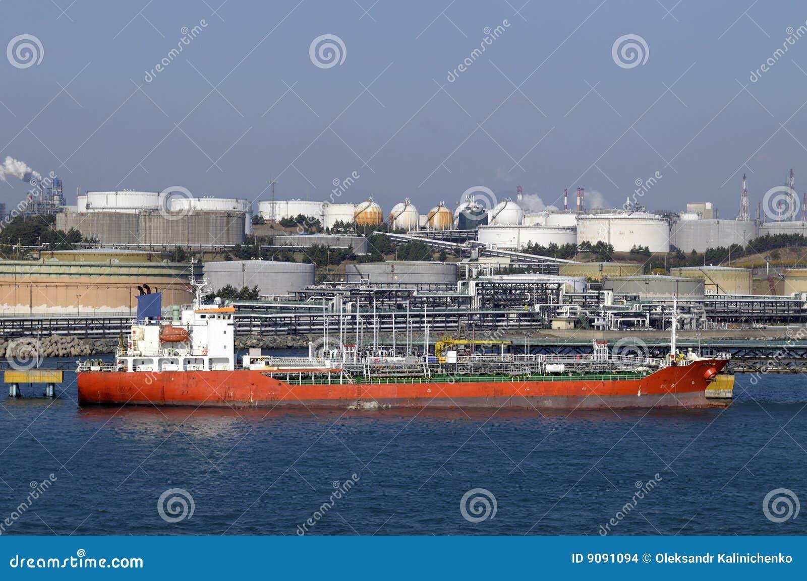 Schmieröl- und Gasindustrie - grude Öltanker