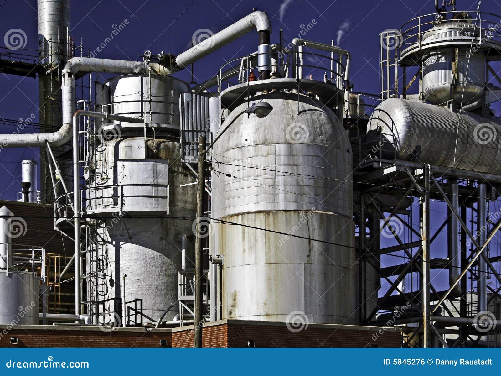 Schmierölgasraffinerie