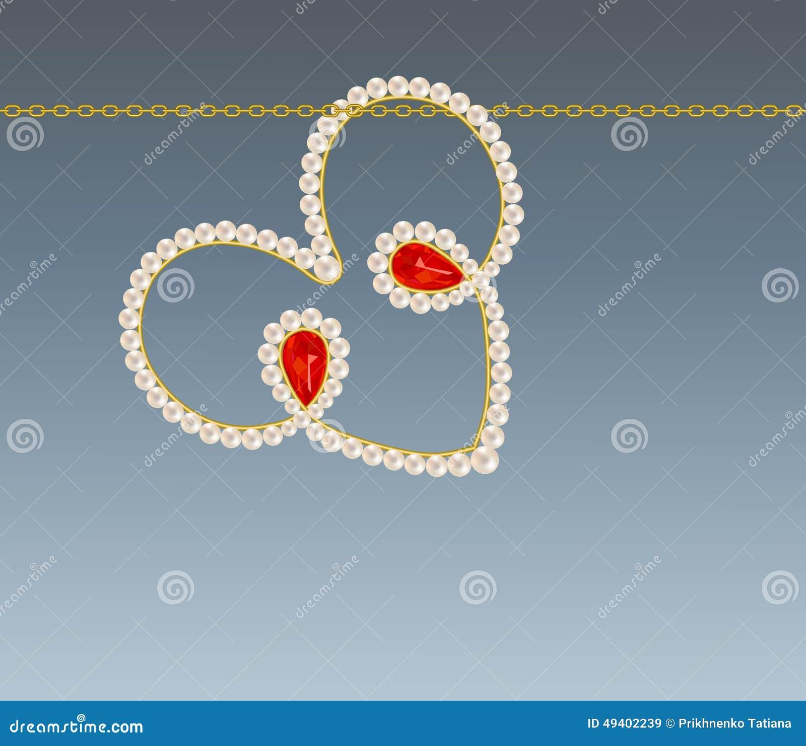 Download Schmucksachen vektor abbildung. Illustration von romantisch - 49402239
