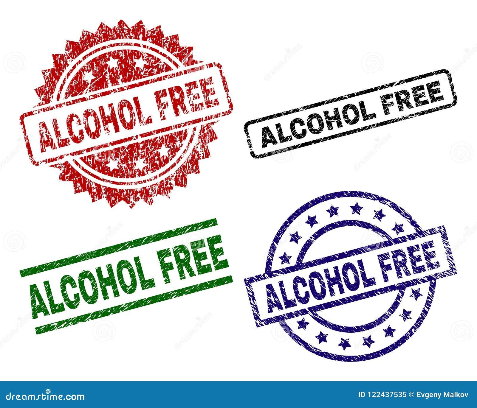 Schmutz-strukturierte ALKOHOLFREIE Stempelsiegel