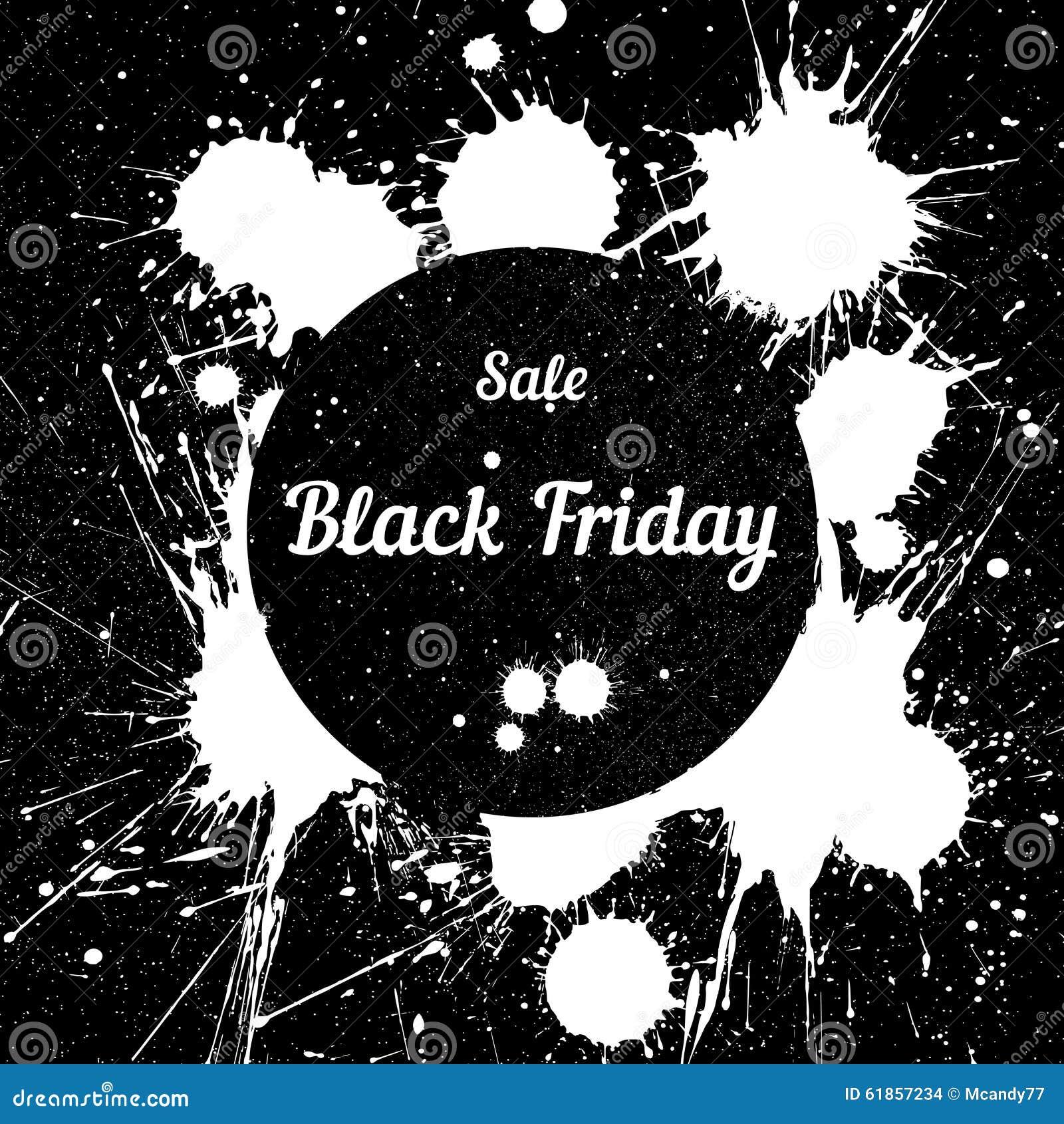 7d3e1b534d78 Schmutzhintergrund Mit Einem Tintigen Getröpfel Für Black Friday ...