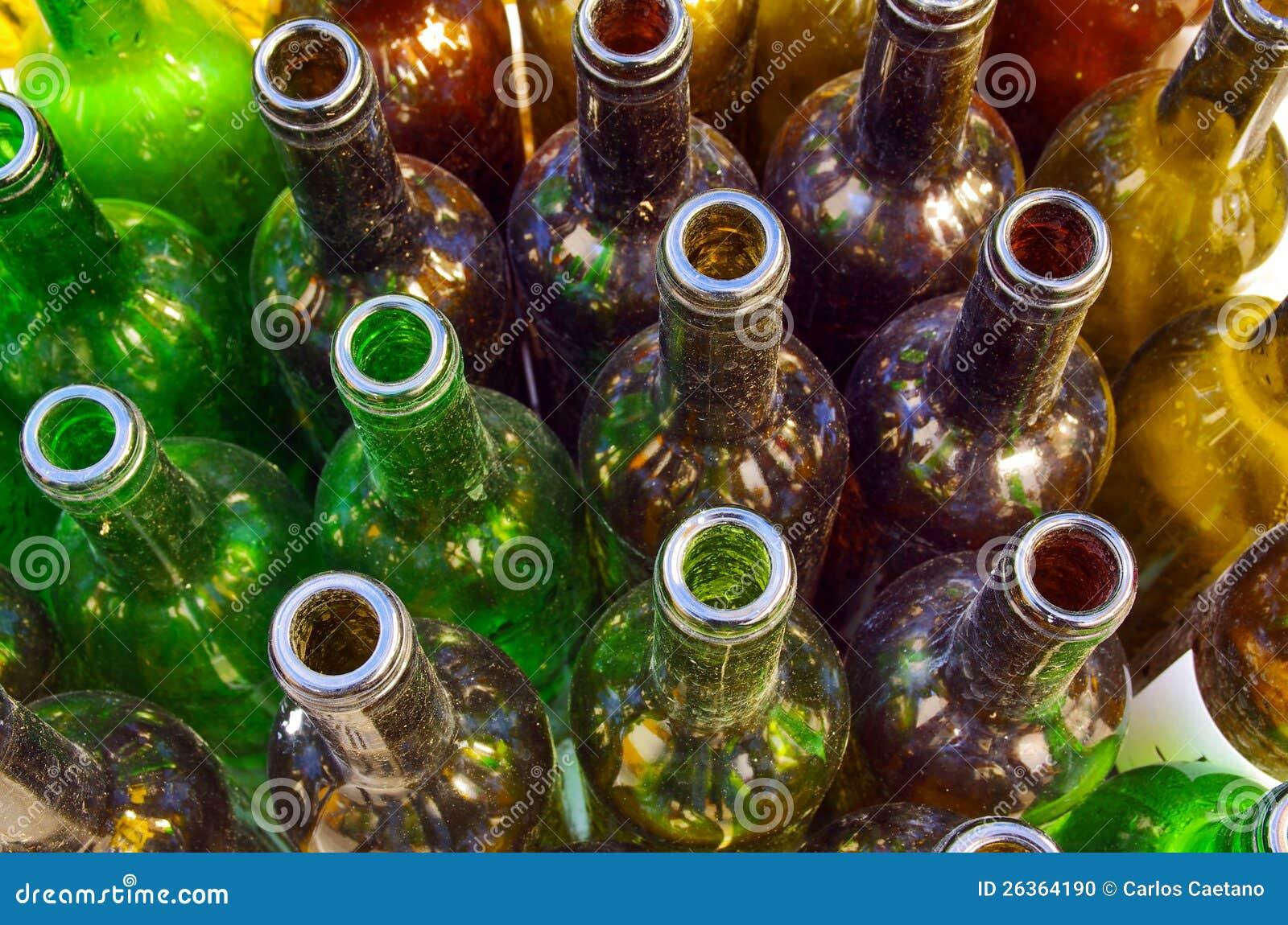 Schmutzige Flaschen