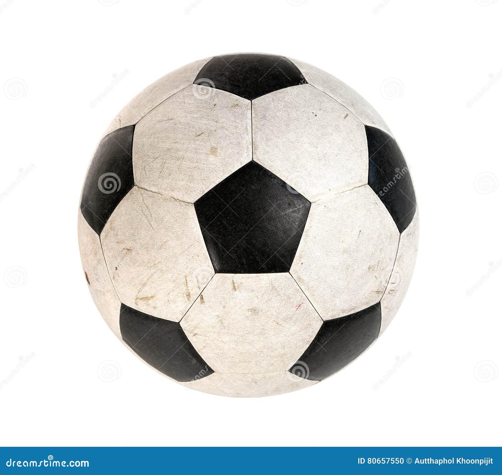 Schmutzige Fußballkugel