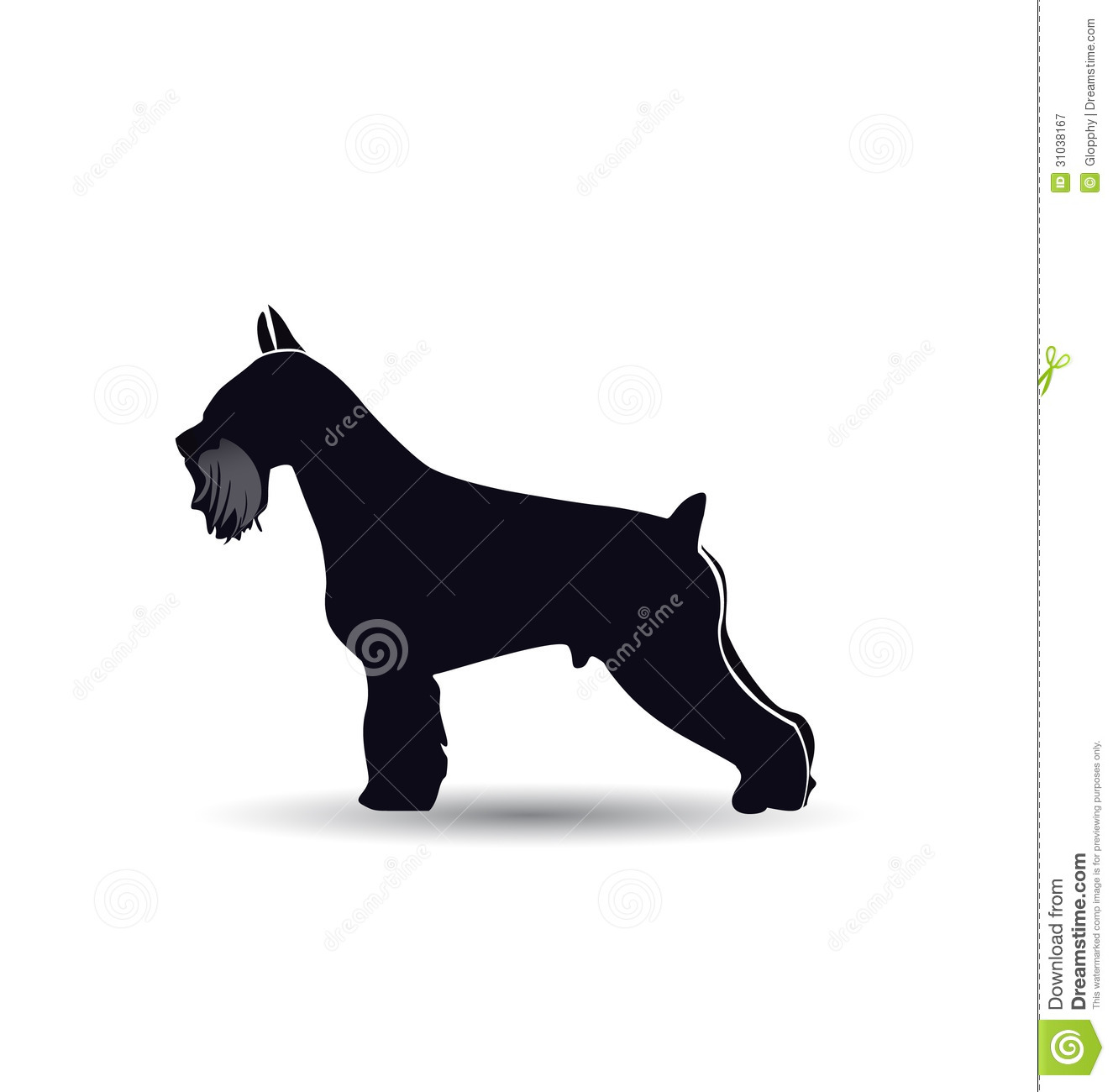 Schnauzer Dog Logo Silhouette Royalty Free Stock Photography - Image ... Veterinary Tools Clip Art