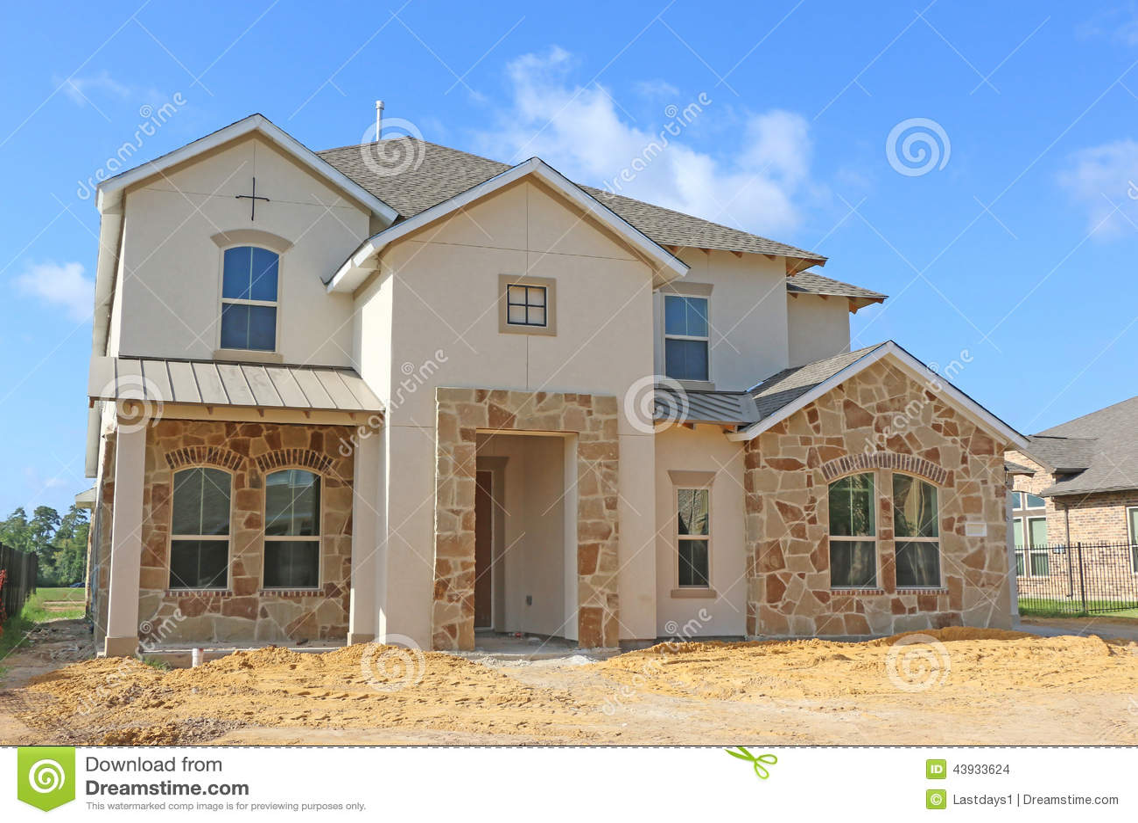 Schöne Häuser Stockfoto - Bild: 43933624 size: 1300 x 957 post ID: 4 File size: 0 B