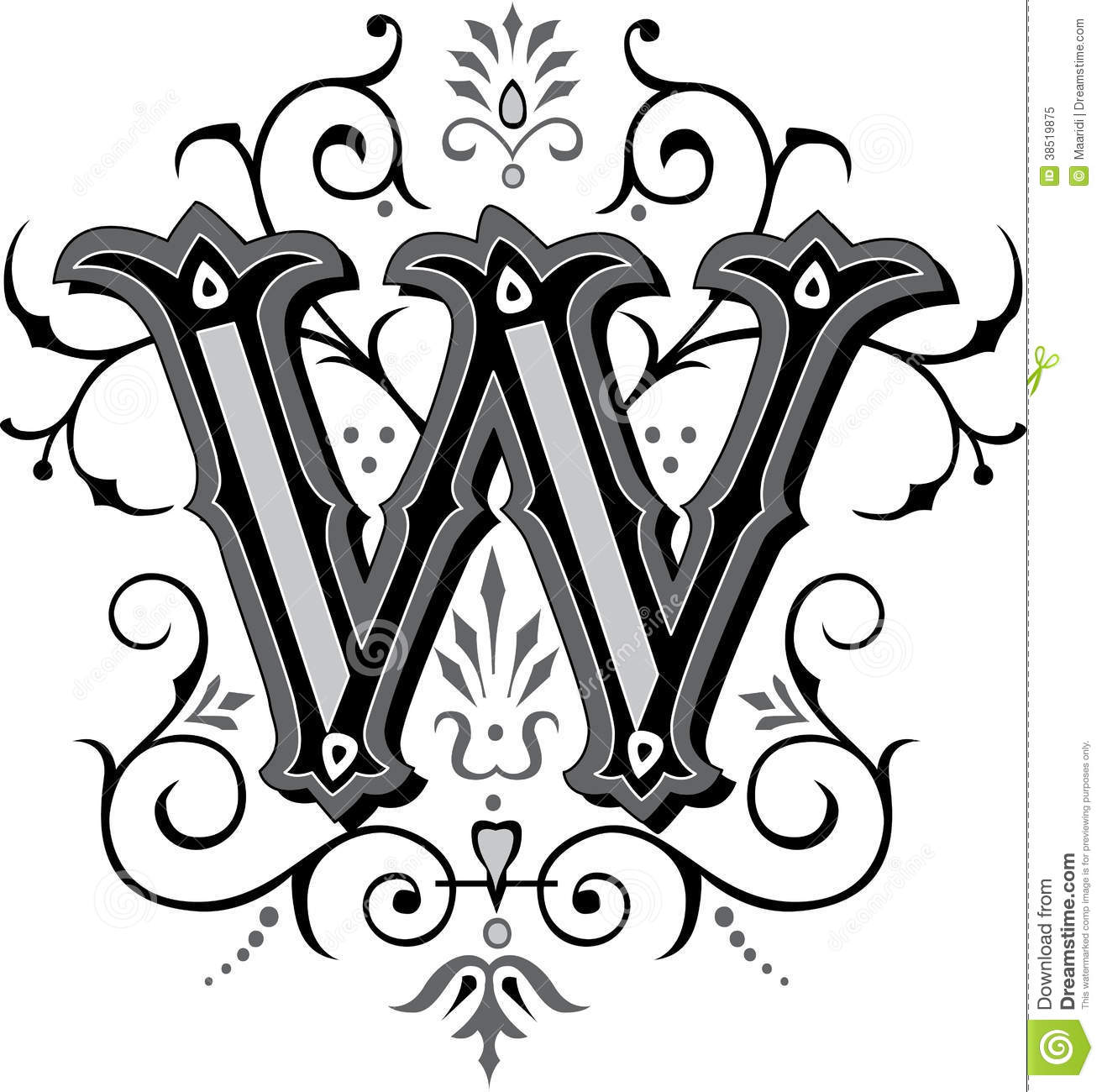 Fancy Letter Designs For Tattoos