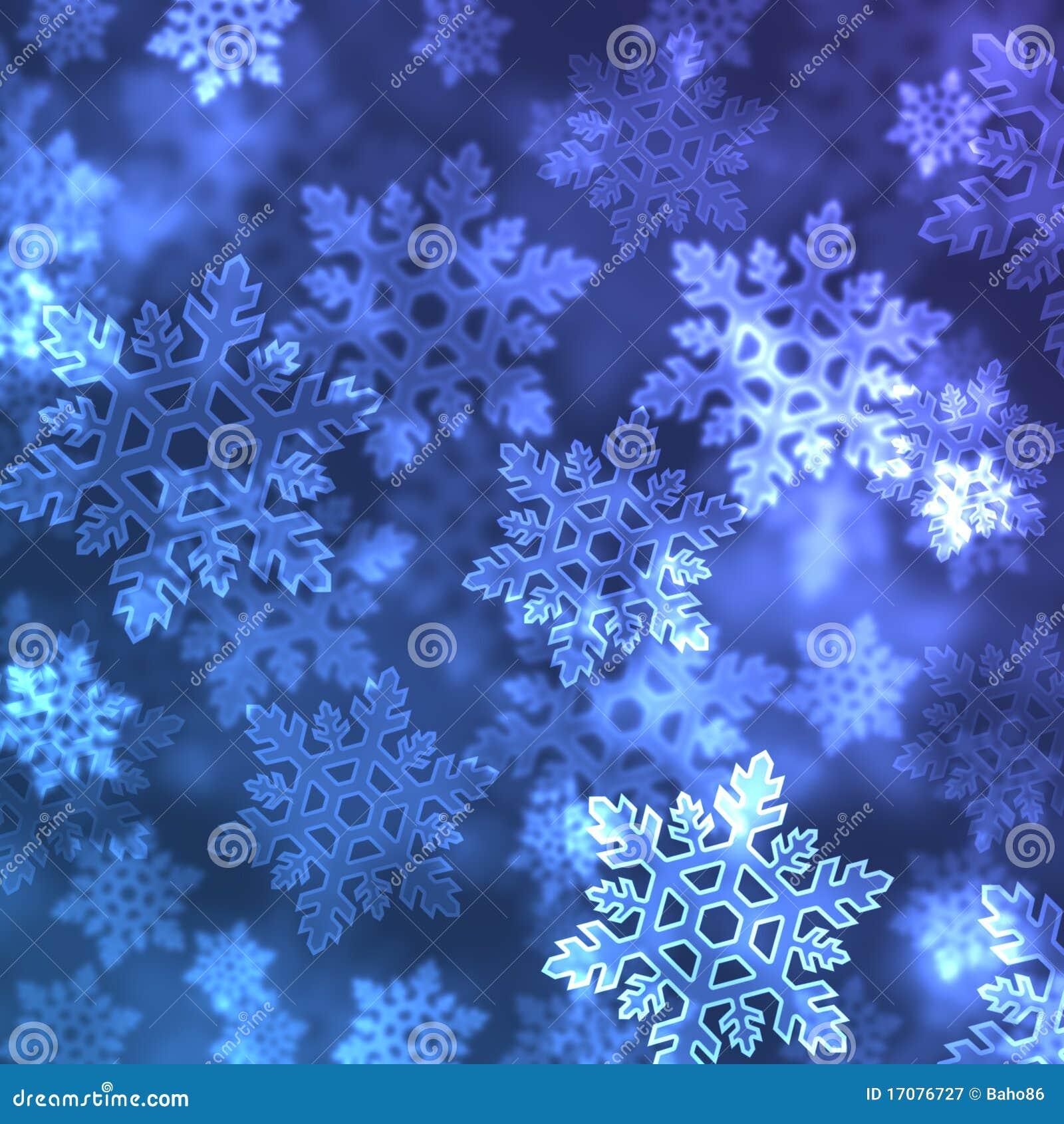 Schnee blättert Hintergrund ab