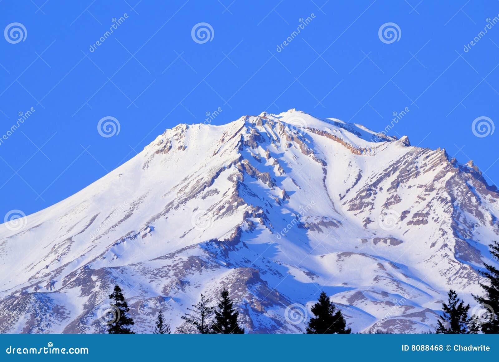 Schnee Mt.-Shasta