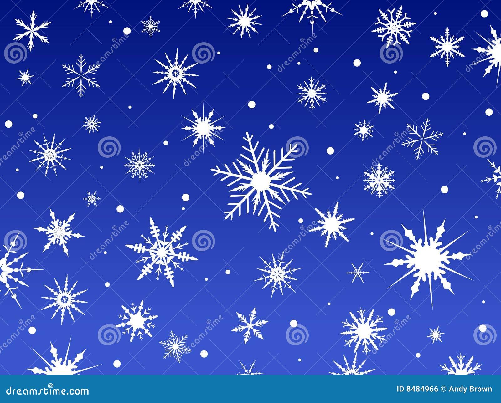 Schnee-Randblau 2