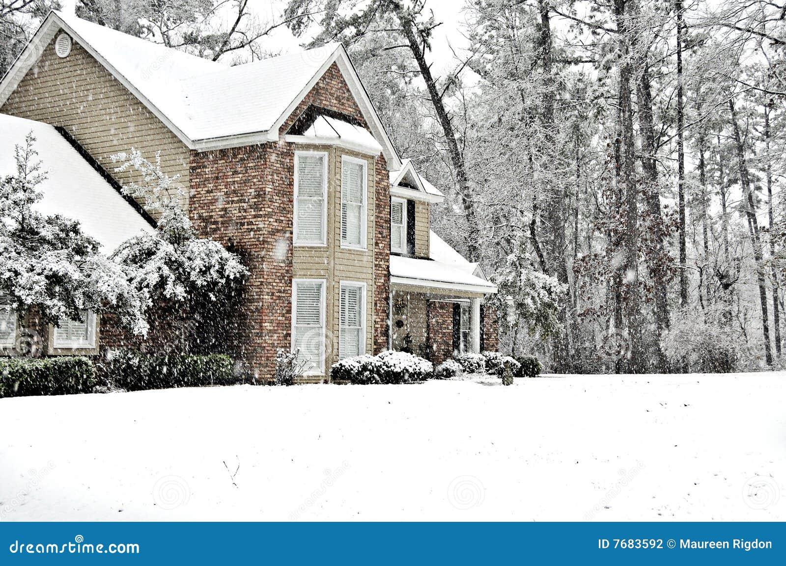 Schnee-Tag