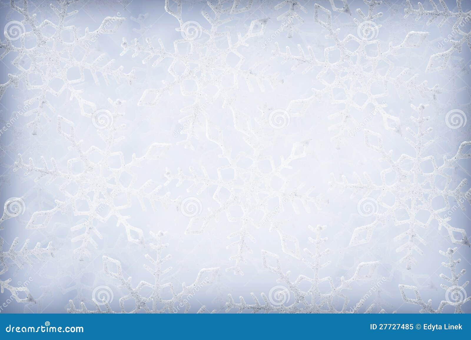 Schneeflockehintergrund