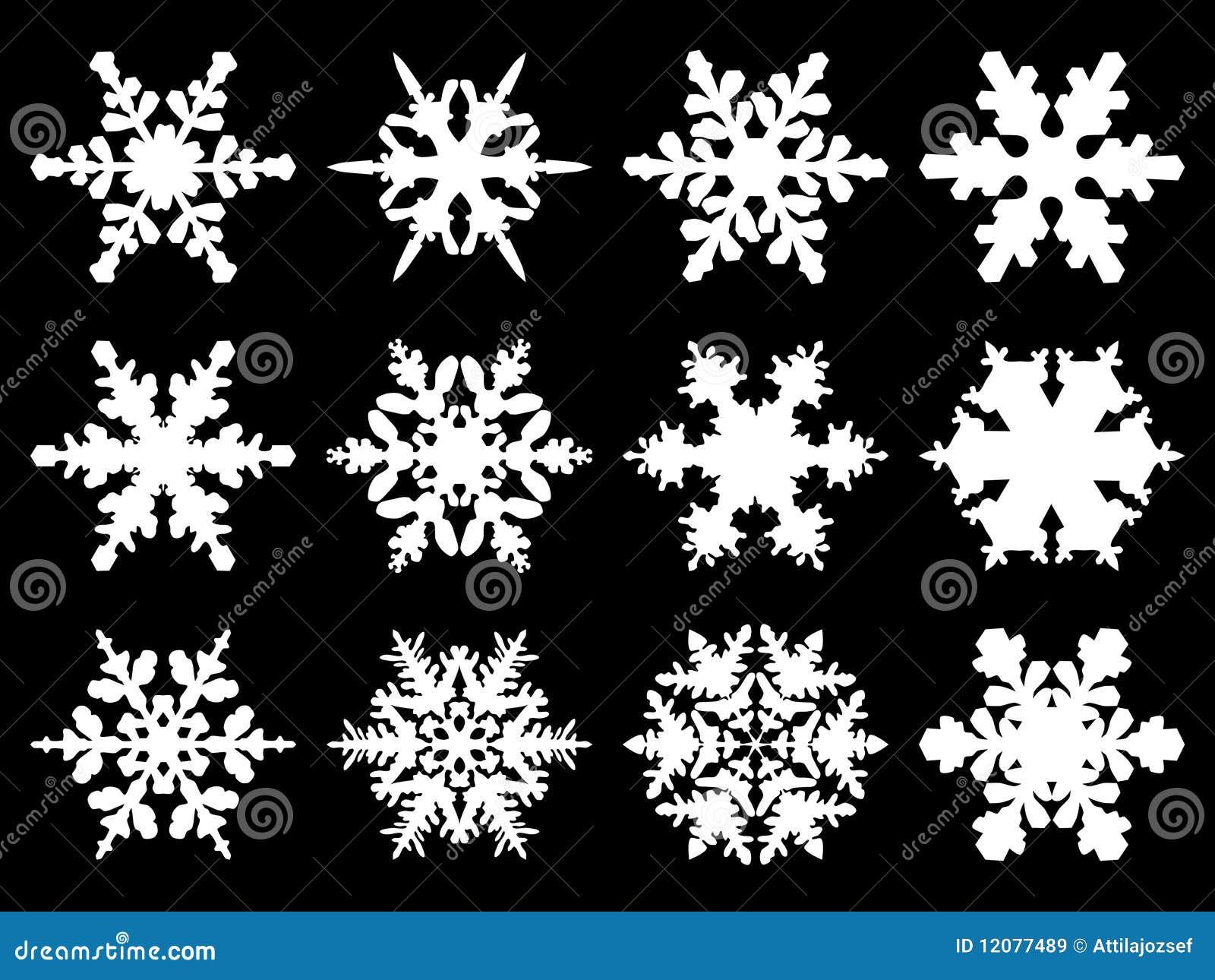 schneeflocken vektor abbildung bild von januar ikone. Black Bedroom Furniture Sets. Home Design Ideas