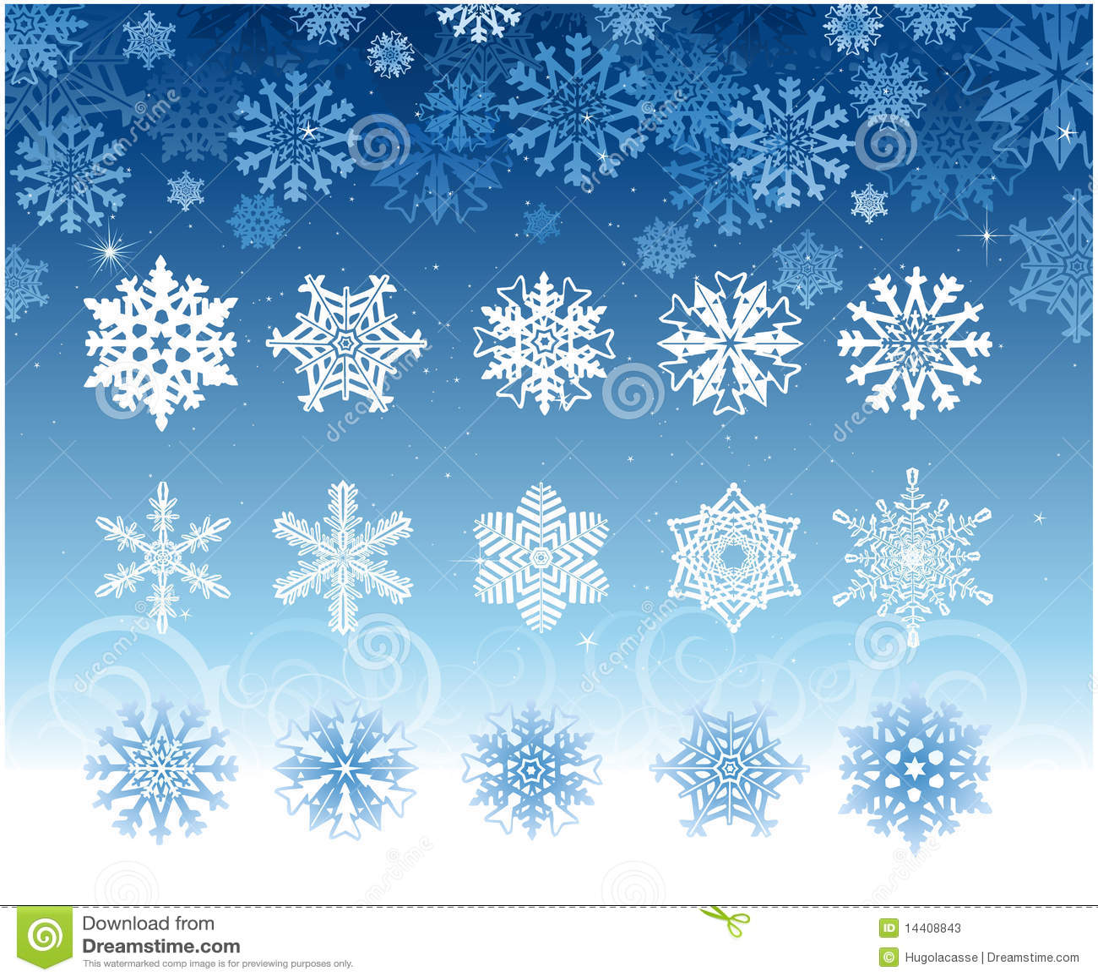 Schneeflockeset