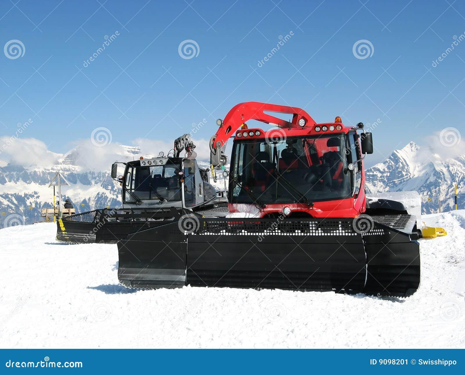 Schneemaschinen