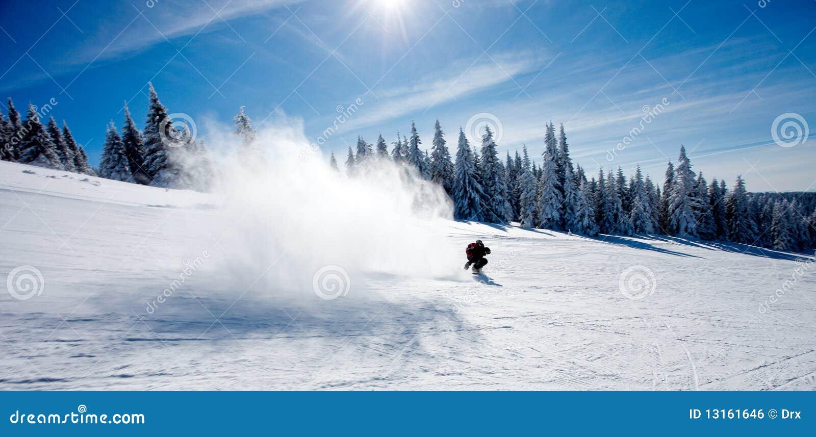 Schneespritzen