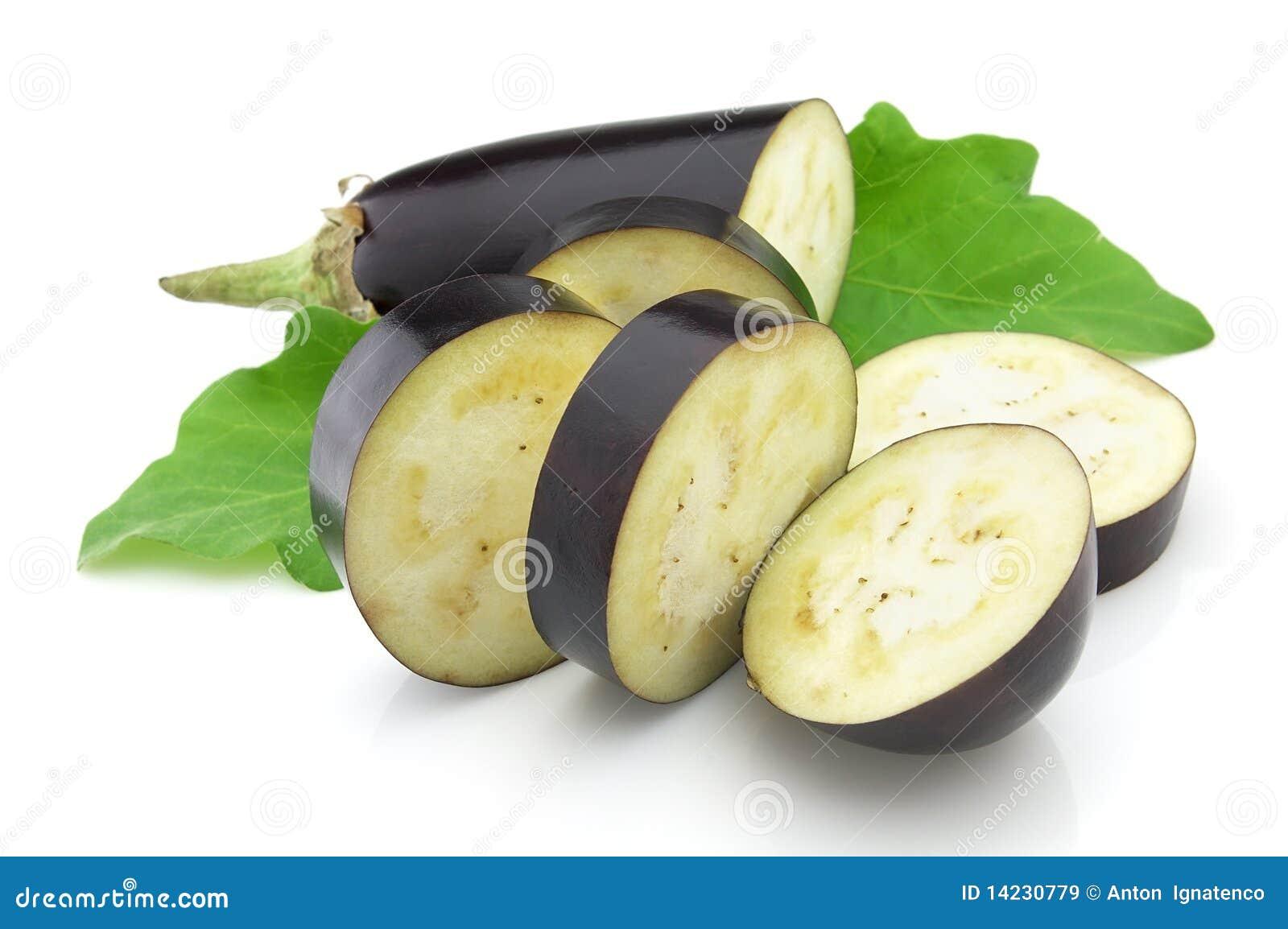 schneiden sie aubergine lizenzfreie stockbilder bild 14230779