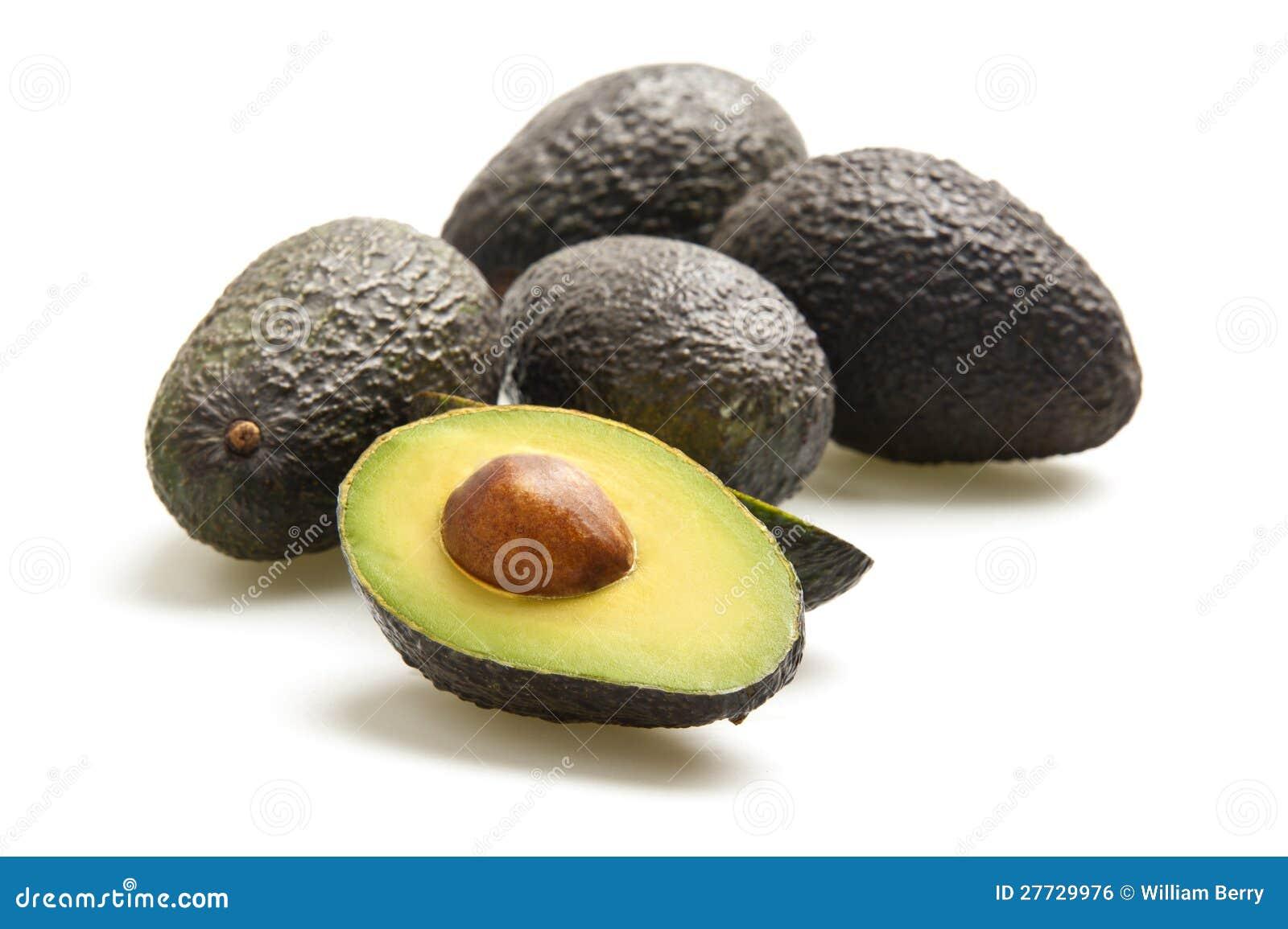 Schneiden Sie Avocado