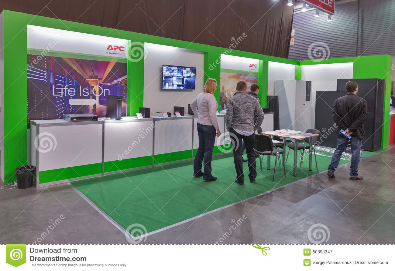 Schneider electric company booth at cee 2015 the largest for Largest craft shows in the us