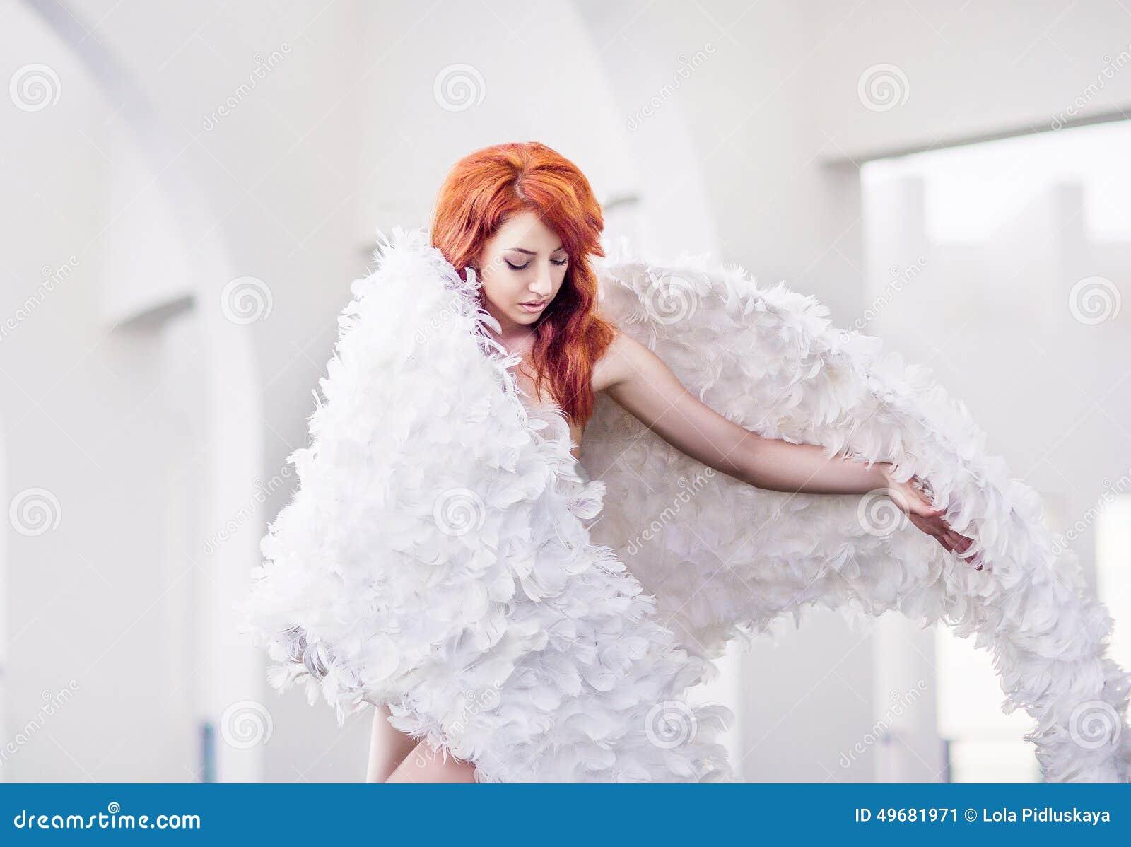 rothaariger engel bekommt doppel anal