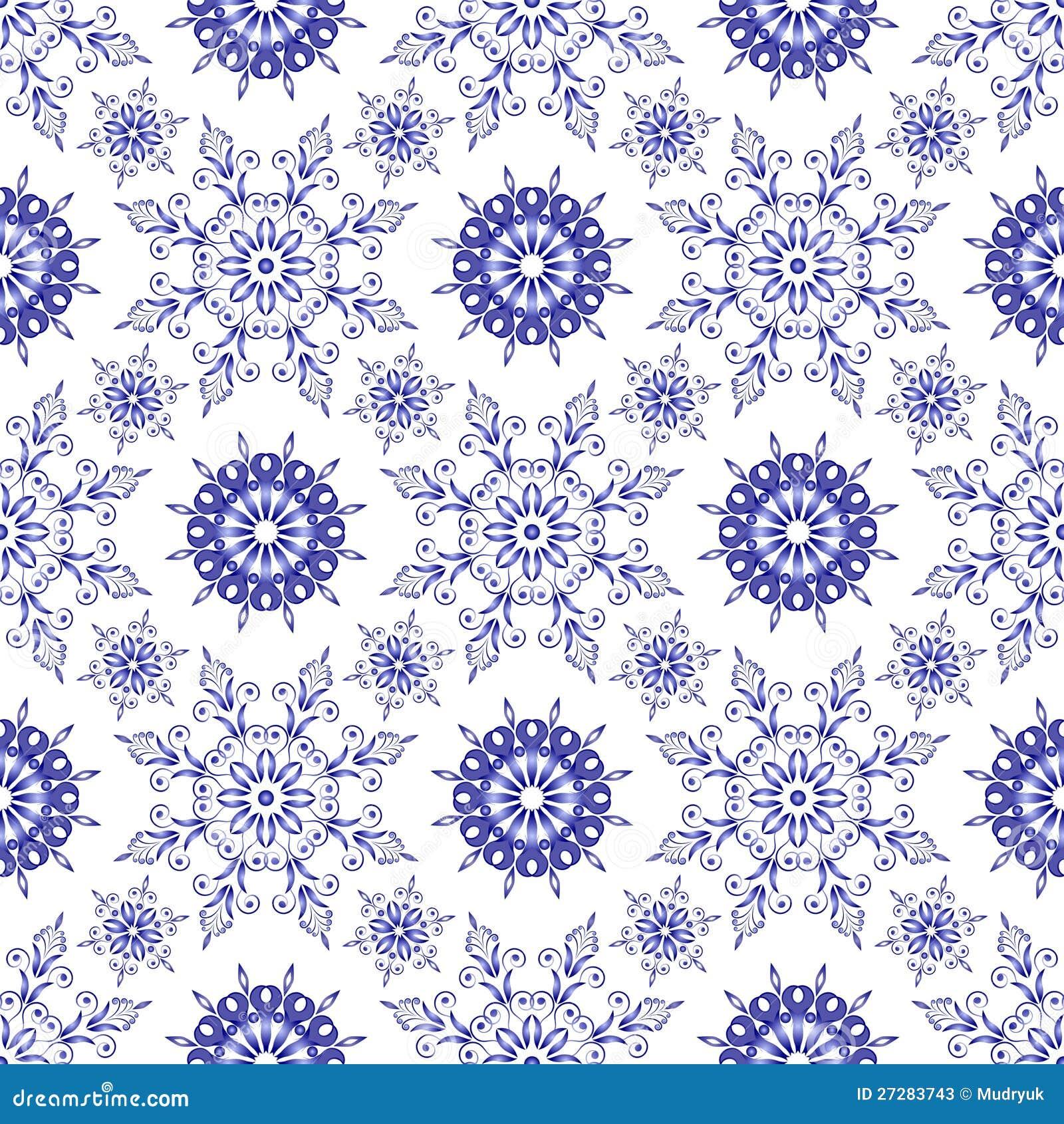sch nes blaues muster auf einem wei en hintergrund stockfotos bild 27283743. Black Bedroom Furniture Sets. Home Design Ideas