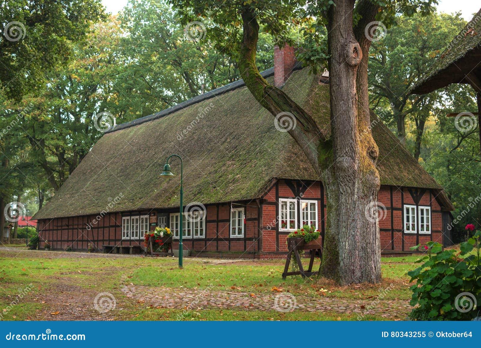 Schneverdinge, Germany - October 10, 2016: Village Museum Heimathaus ...