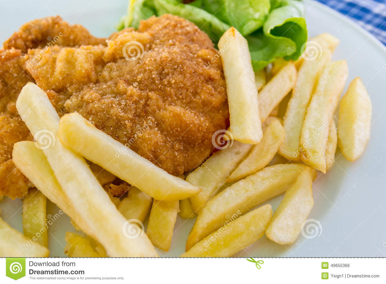 1 408 Schnitzel Chips Salad Photos Free Royalty Free Stock Photos From Dreamstime
