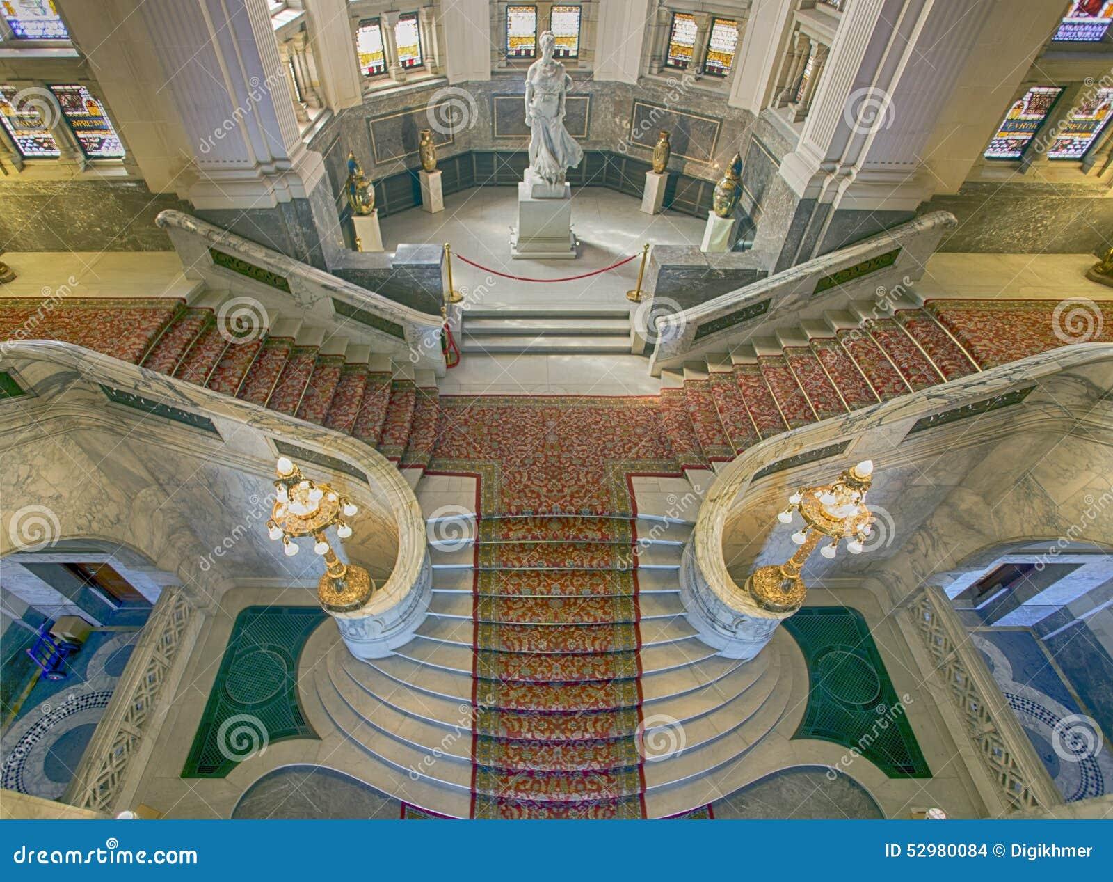 Schodki pokoju pałac