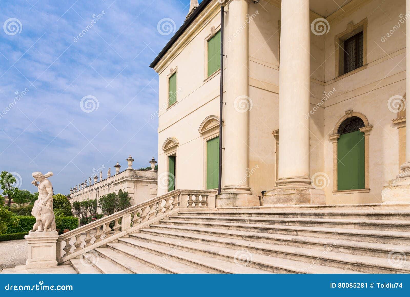 Schody Palladian willa