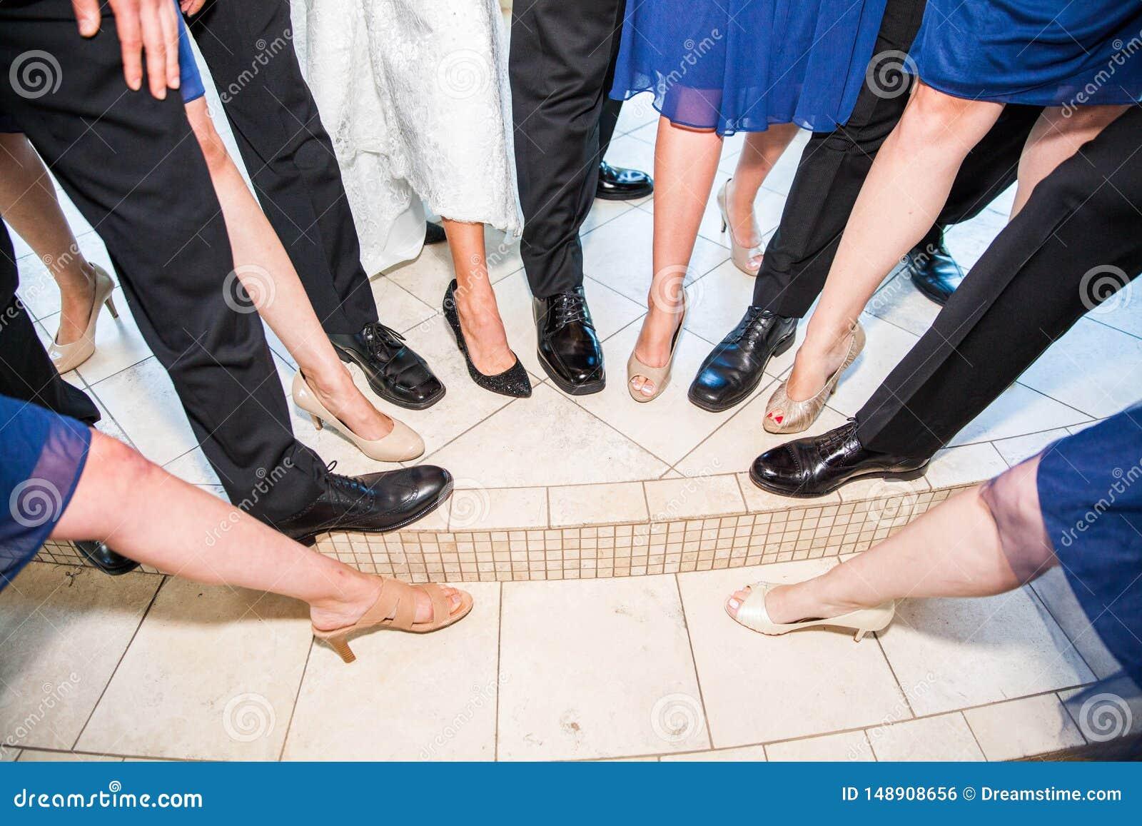 Schoenen en benen