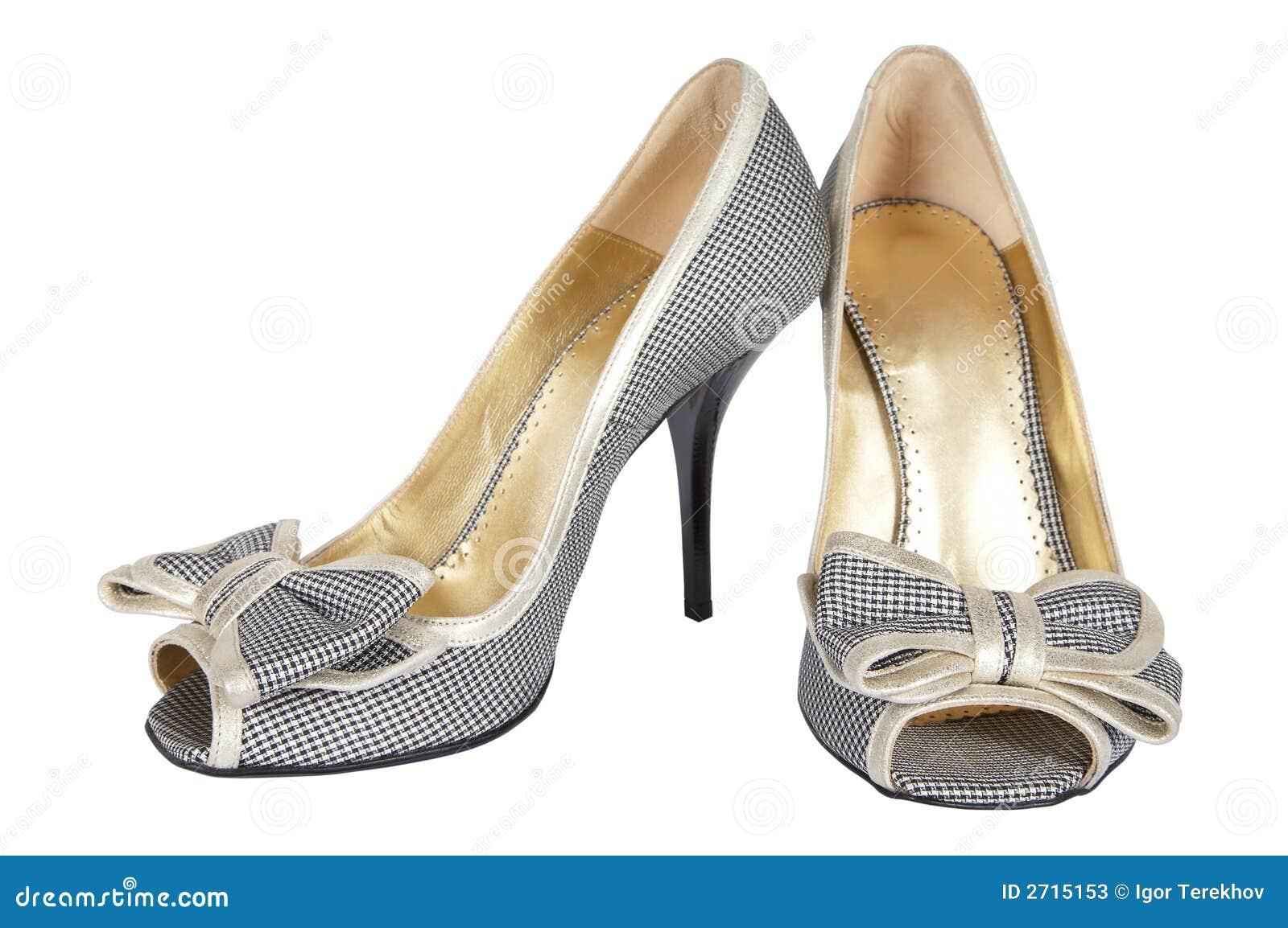 Schoenen met een boog