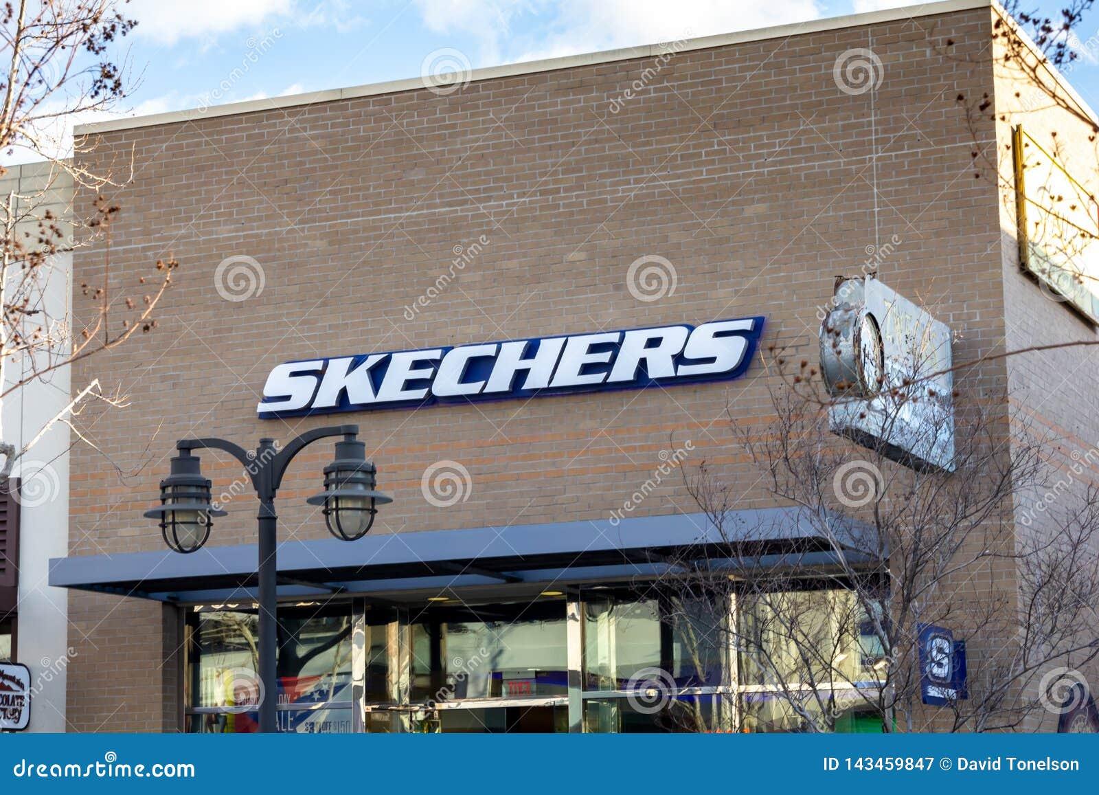 Schoenopslag voor Skechers