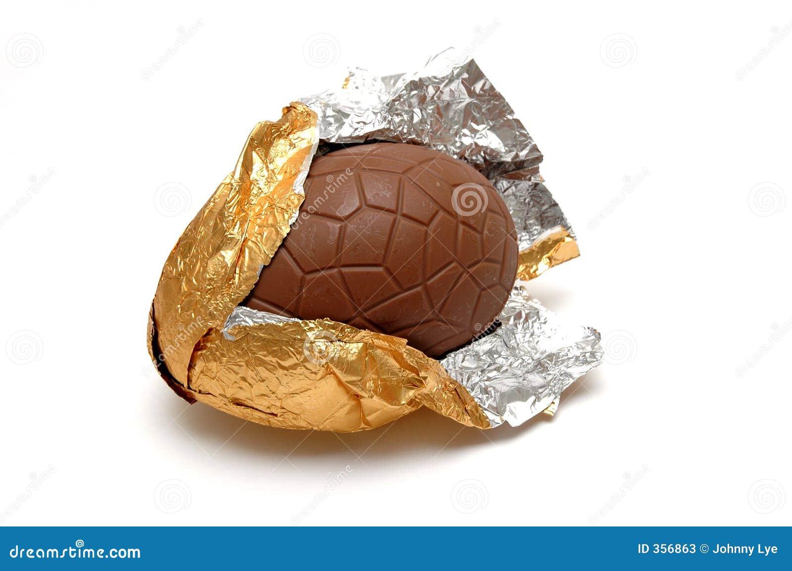 Schokolade Ei (geknackt)