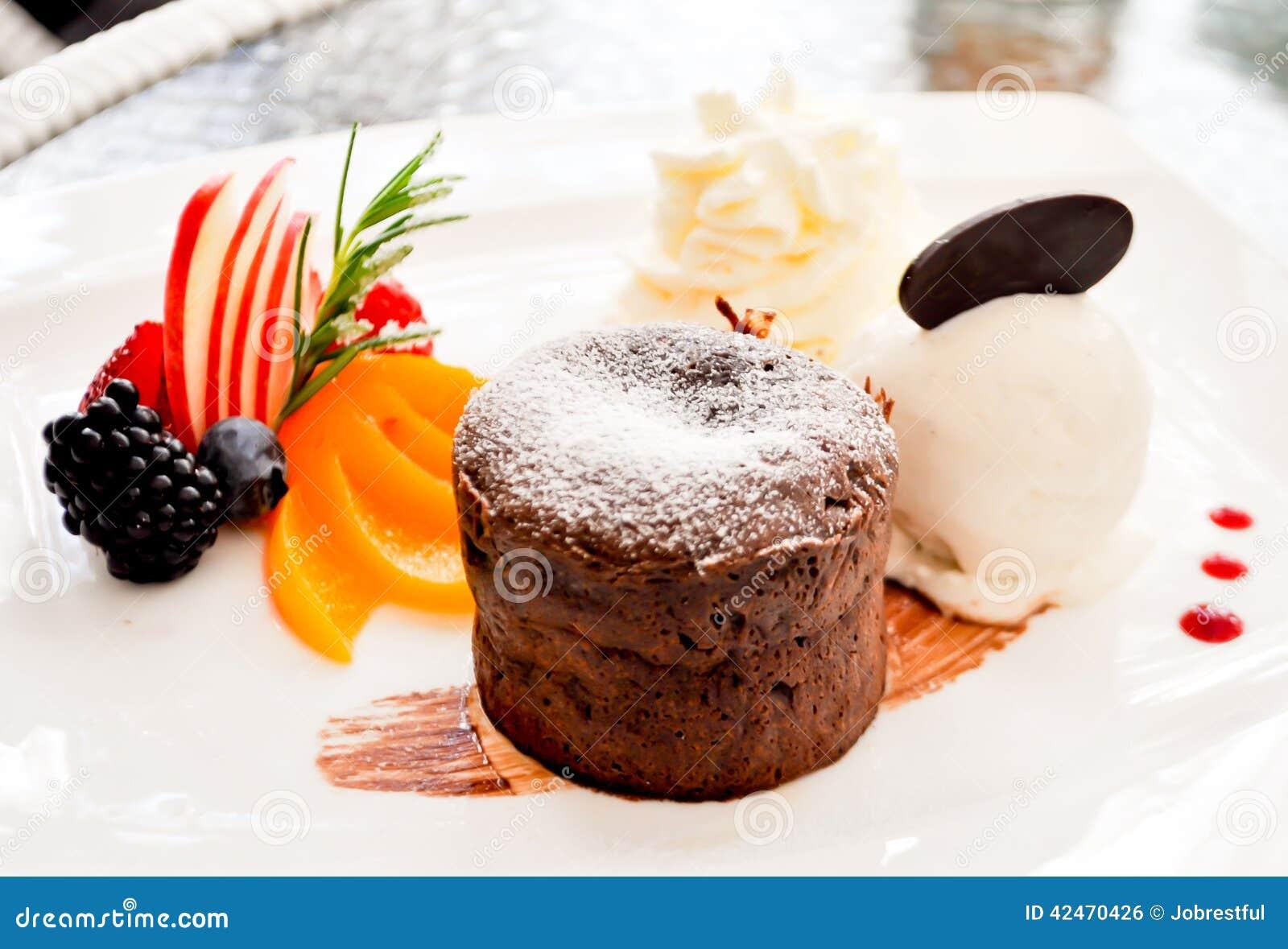 Schokolade Lava Cake