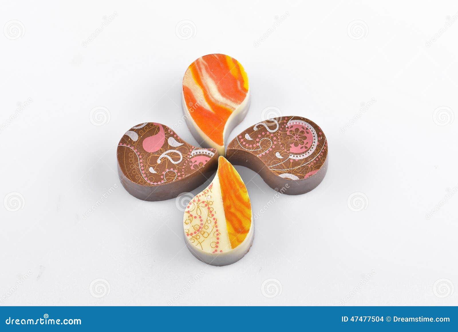 Schokolade Yin Yang Stockfoto Bild Von Suss Sussigkeiten 47477504