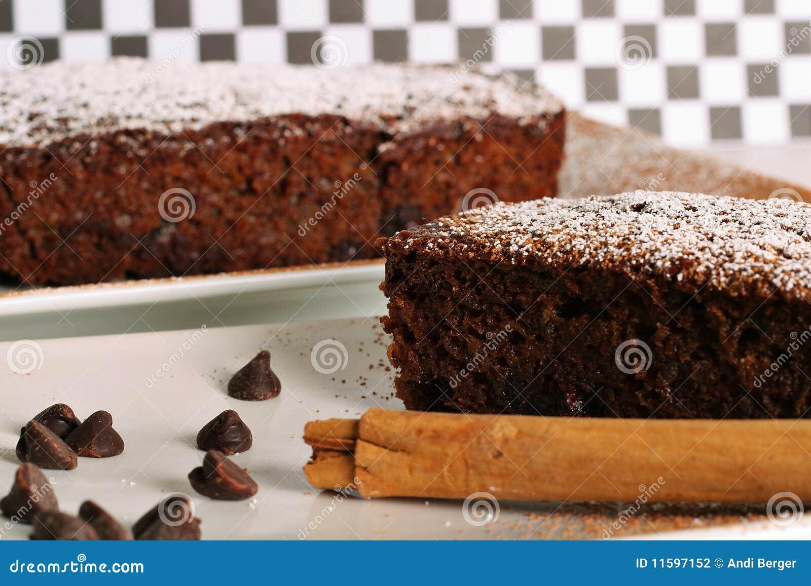 Schokolade zuchinni Brot