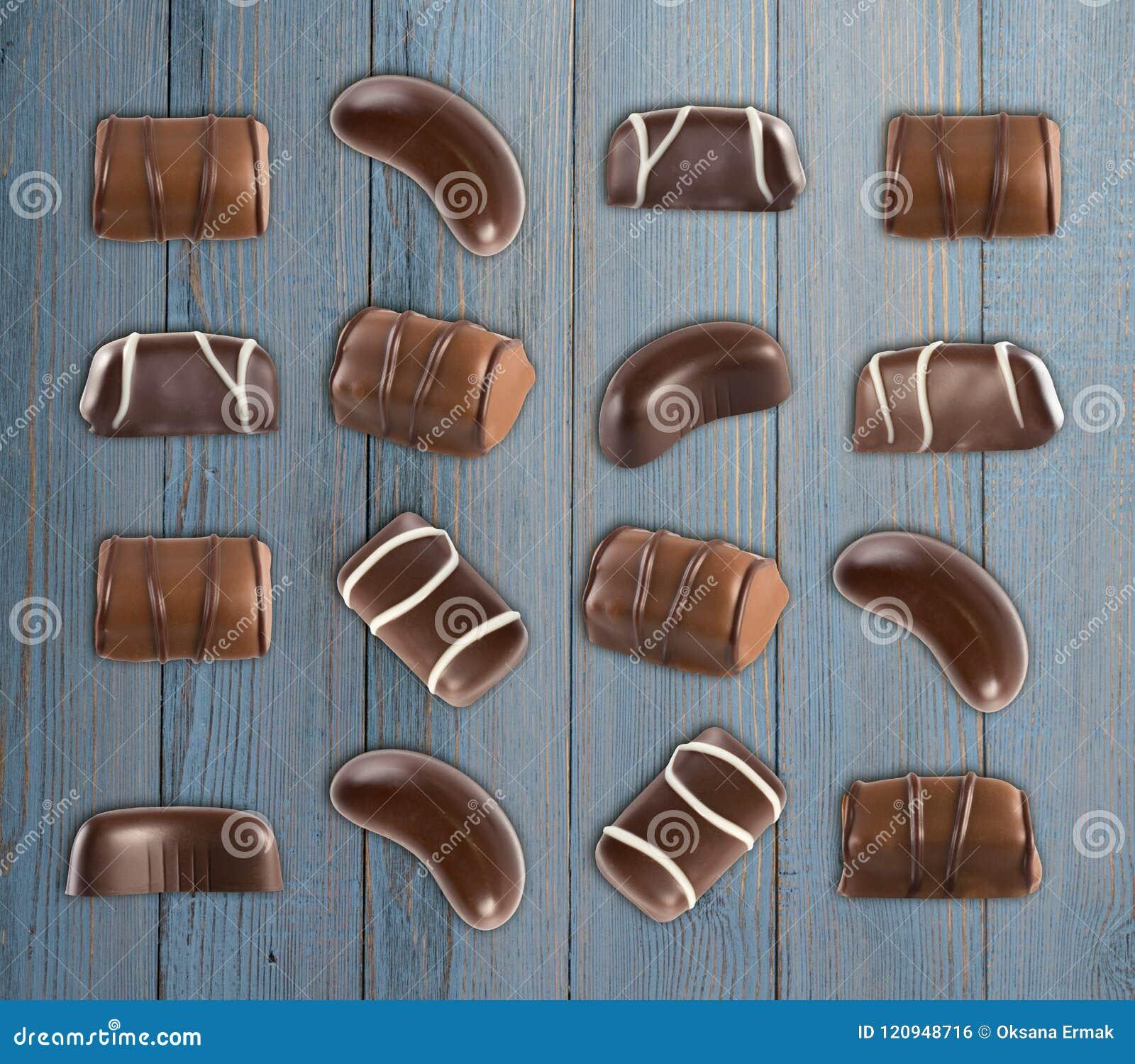 Schokoladen-Bonbon-Muster