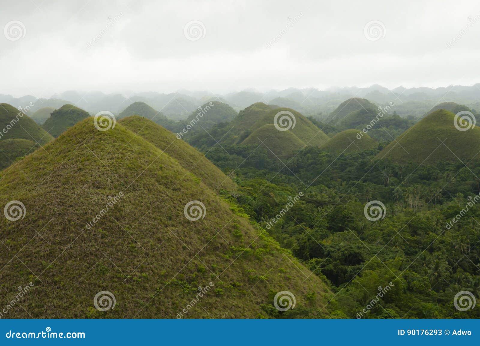 Schokoladen-Hügel - Bohol - Philippinen