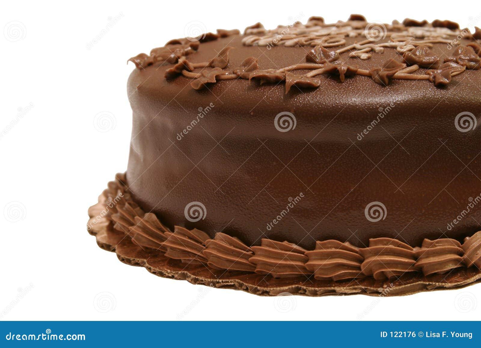Schokoladen-Kuchen - teilweise 2