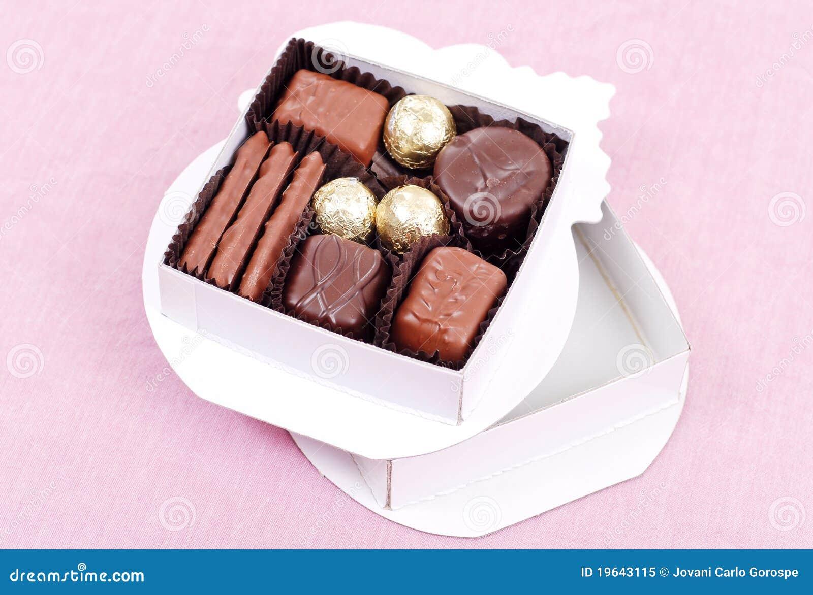 Schokoladen-Süßigkeit-Geschenk-Kasten