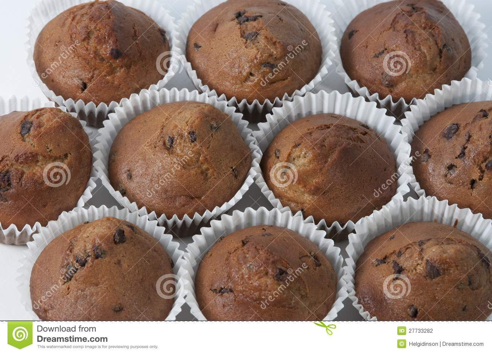 Schokoladenchip-Muffins