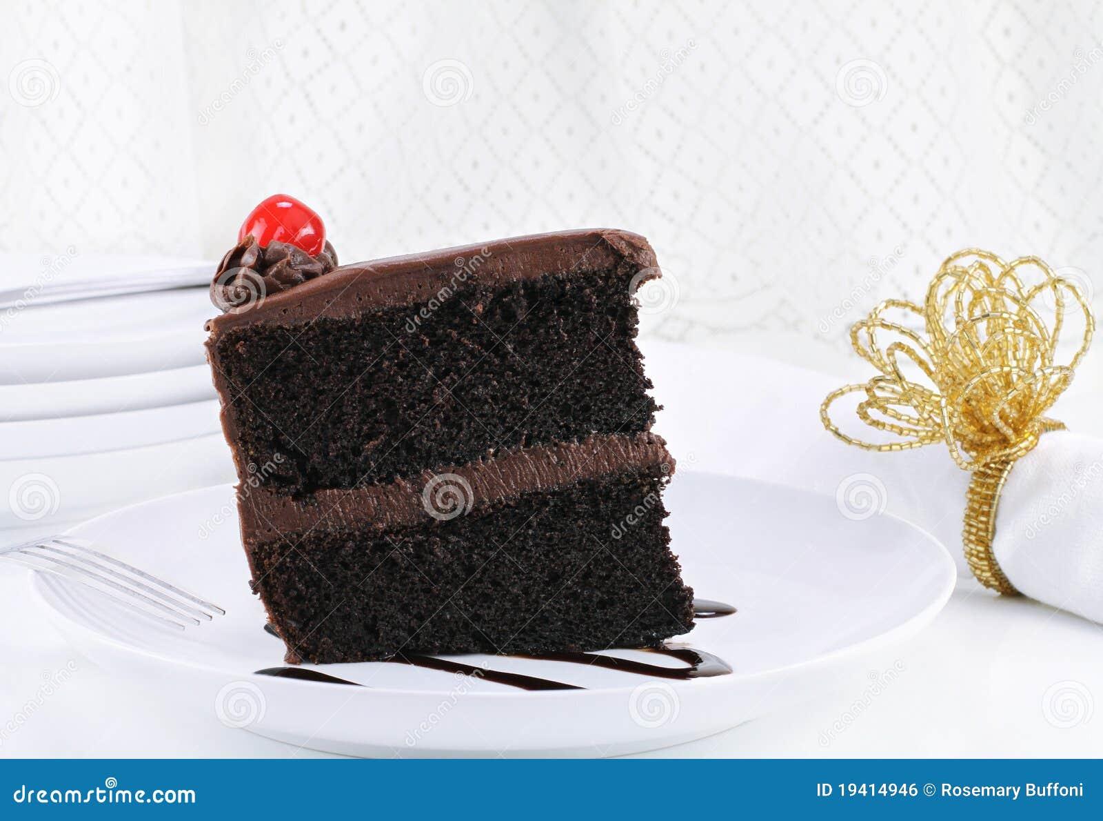 Schokoladenfondant Kuchen Stockfoto Bild Von Narcotize 19414946