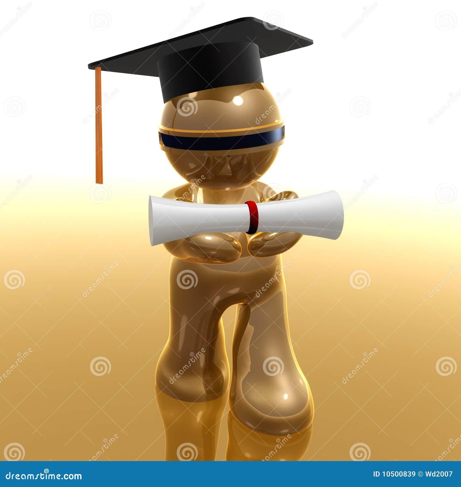 Scholarship And Graduation Futuristic Icon Stock ...