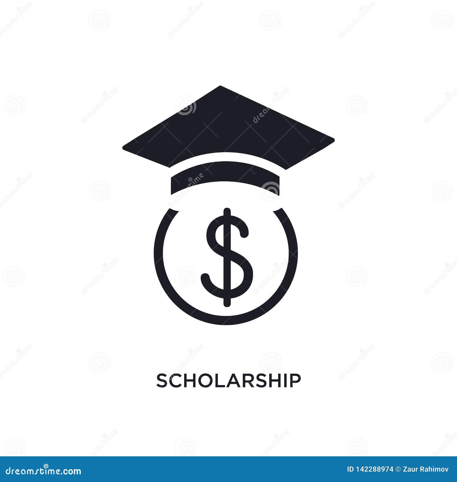 Scholarship Isolated Icon. Simple Element Illustration ...