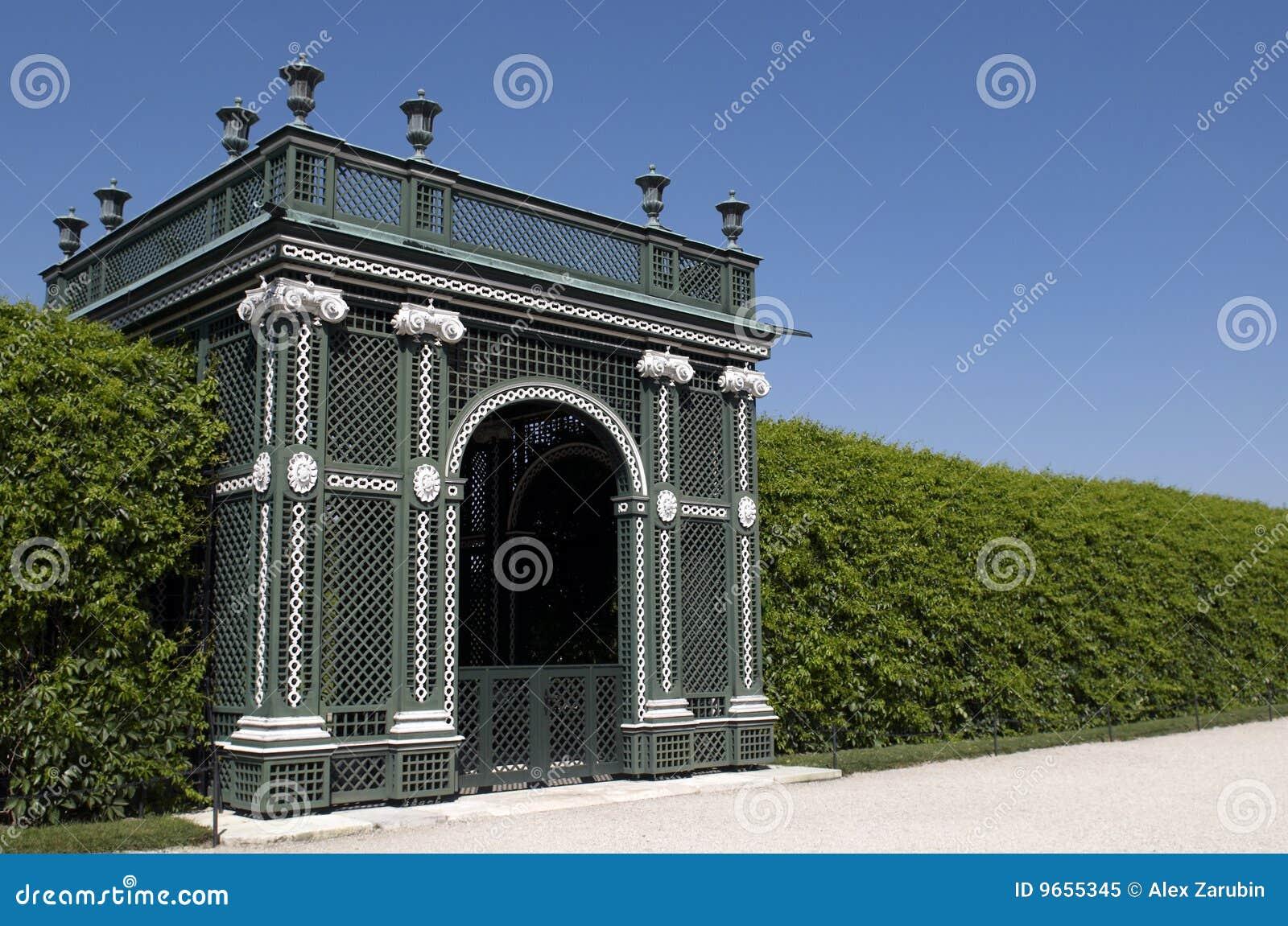 Schonbrunn de stationnement de palais d horizontal