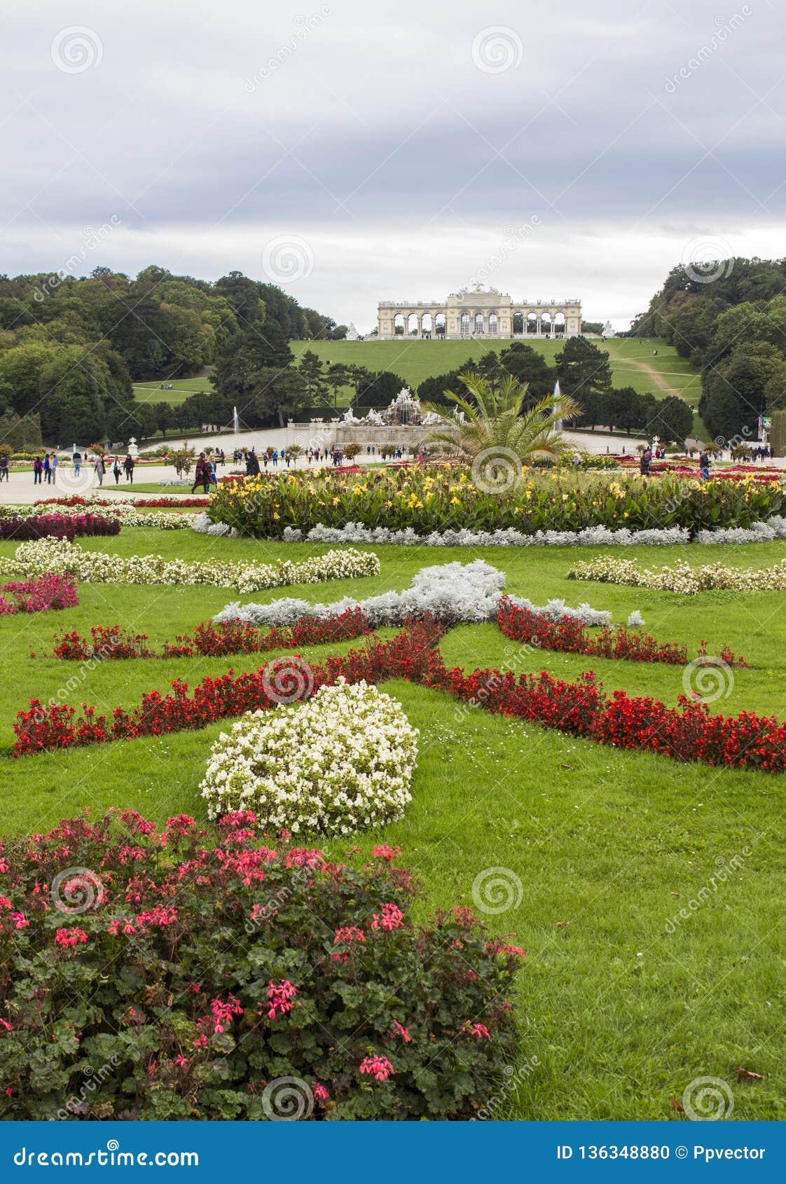 Schonbrunn Palace Gardens