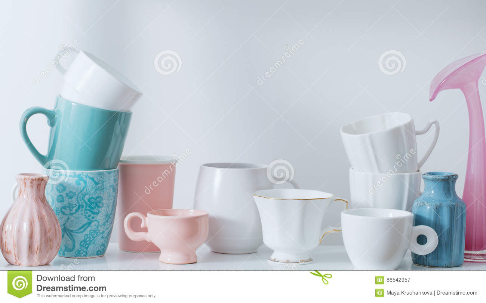 Schone Dishware in Afwasmachine