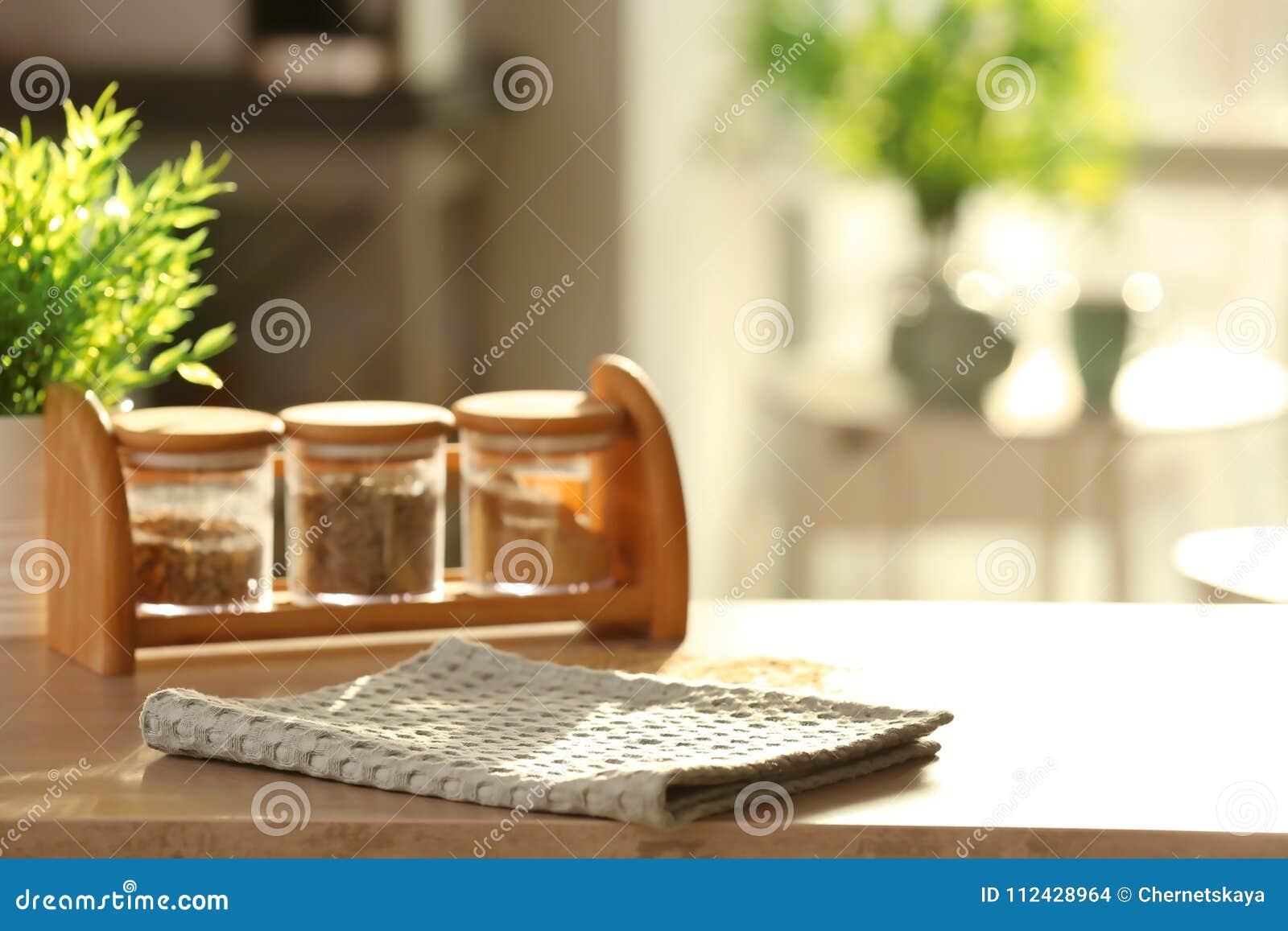 Schone keukenhanddoek